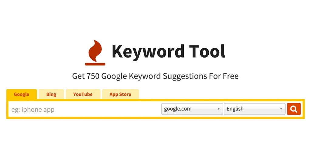 Keyword tool keyword research